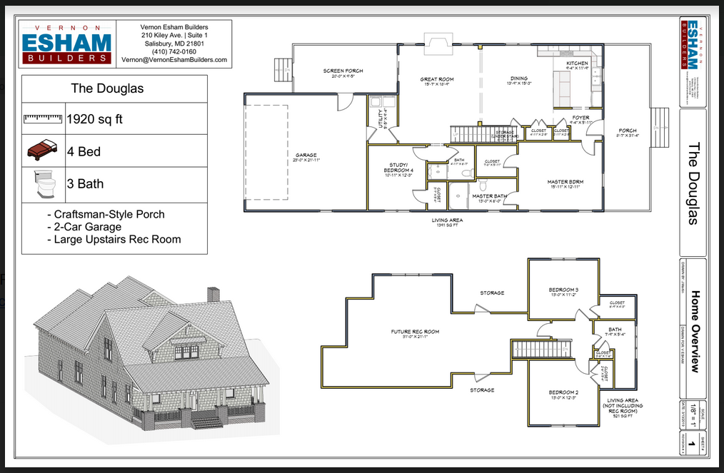 March Home of the Month Floor Plan